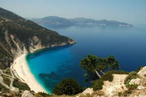 Une crique en Grèce