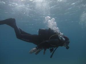 Faire de la plongee a naxos