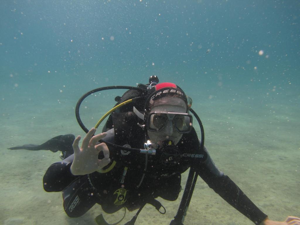 Retour sur un baptême de plongée à Naxos – Cyclades – Grèce
